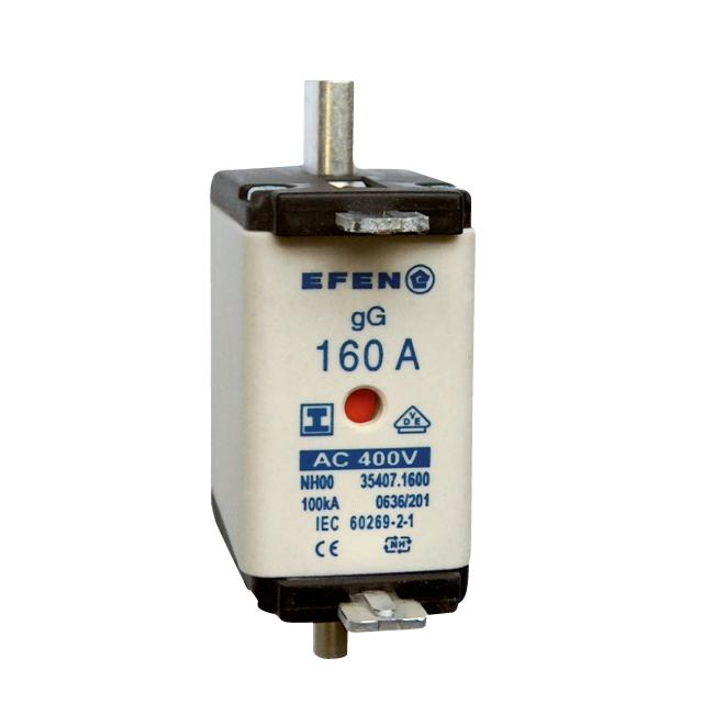 NH-Sicherungs-Einsätze für Kabel- und Leitungsschutz, AC 400V gG