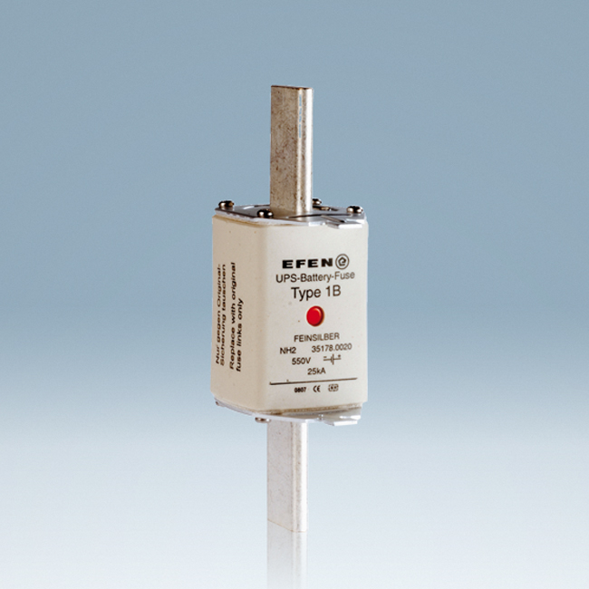 NH Fuse-Links for DC applications up to 550 V