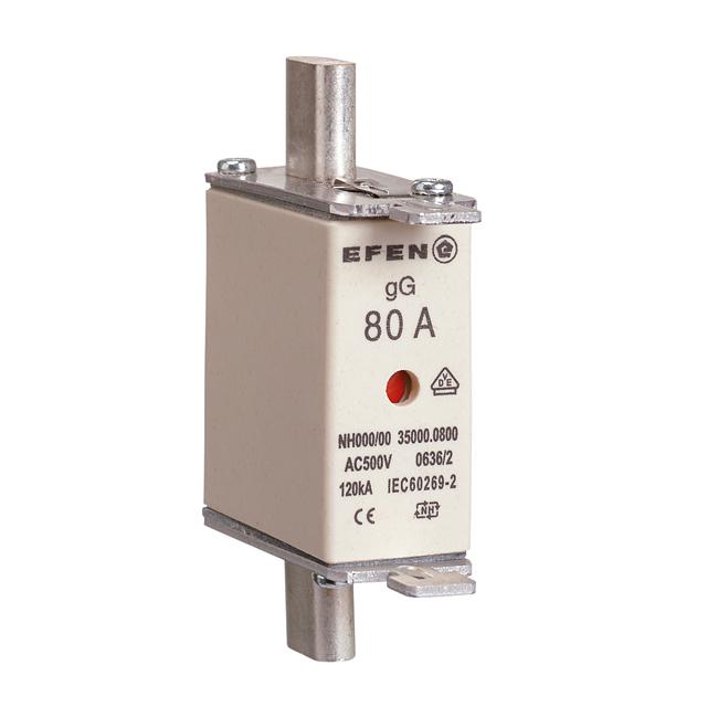 NH-Sicherungs-Einsätze für Kabel- und Leitungsschutz, AC 500V gG