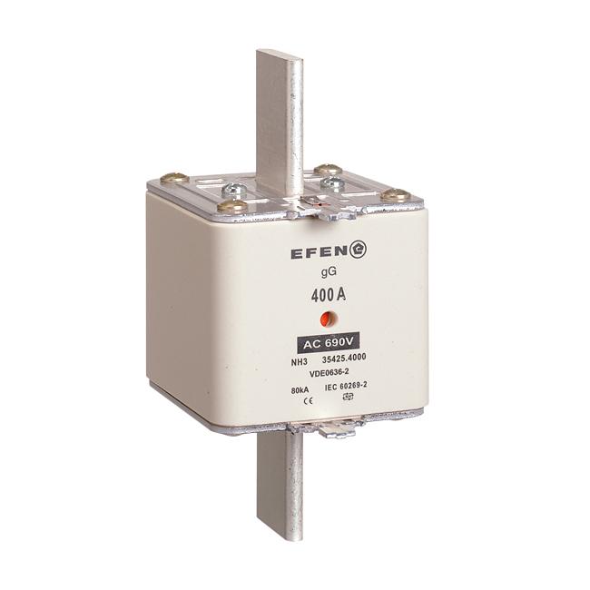 NH-Sicherungs-Einsätze für Kabel- und Leitungsschutz, AC 690V gG