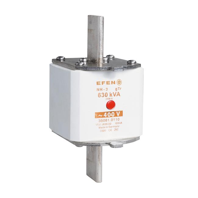 NH- Sicherungs-Einsätze für Transformatorenschutz, AC 400 V gTr