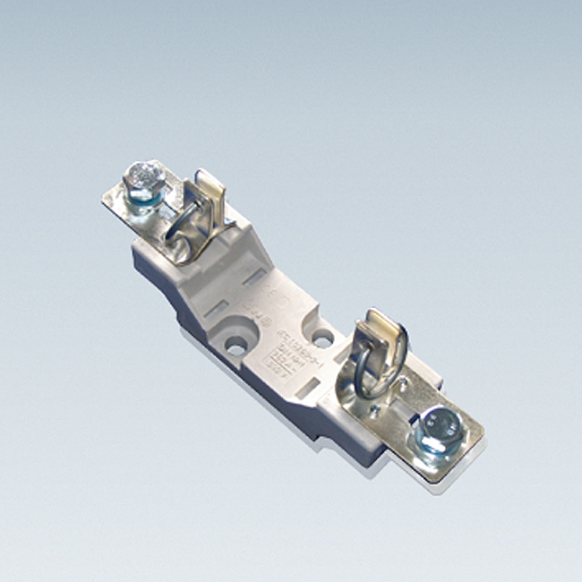 NH Fuse-Bases 690 V AC, 1-pole, for baseplate and supporting-rail mounting acc. to VDE 0636 T201 / IEC 60269-2-1
