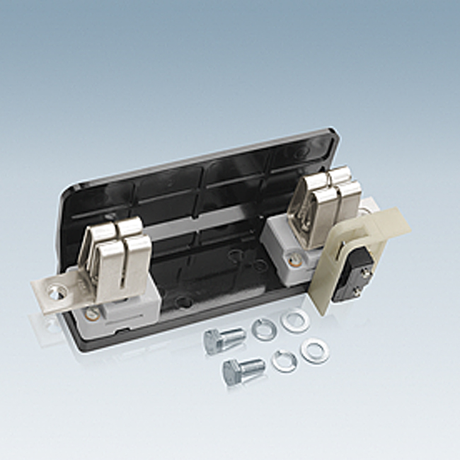 NH-Sicherungs-Unterteile 1500 V AC, 1-polig für Aufbaumontage