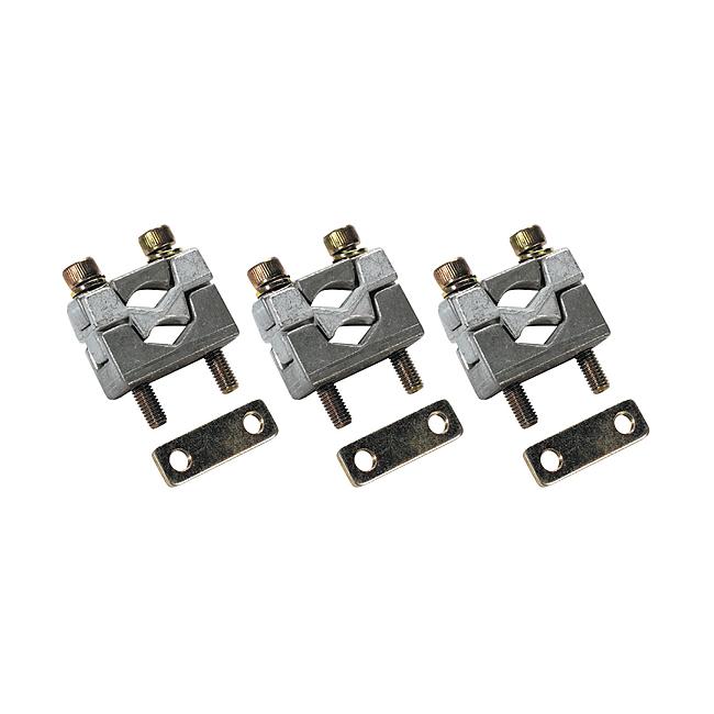 Druckstücke mit Kontaktprisma für 2 Leiter, für Universalanschluss, Baureihe SILAS