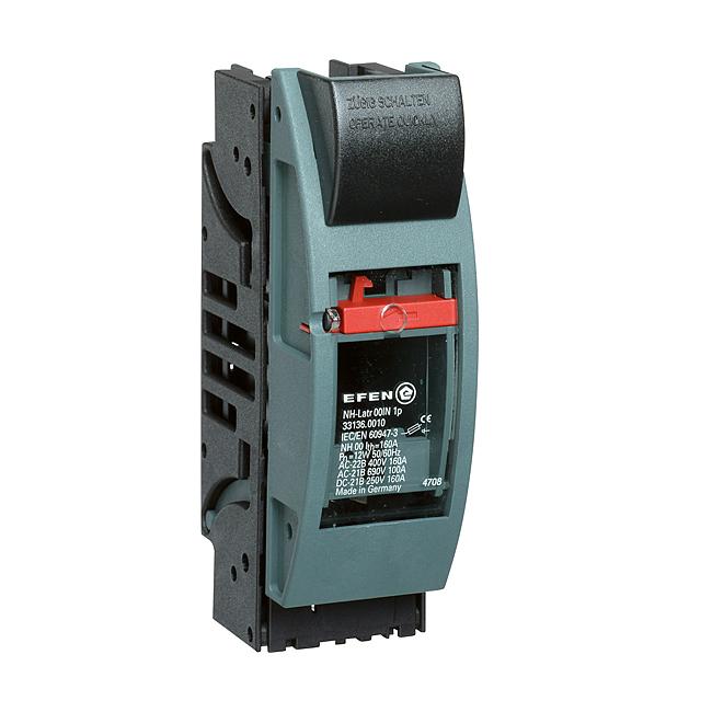 NH-Sicherungs-Lasttrenner 690 V AC, 1-polig, für Aufbaumontage