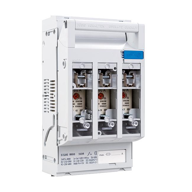 NH-Sicherungs-Lasttrenner 690 V AC, 3-polig, für Aufbaumontage
