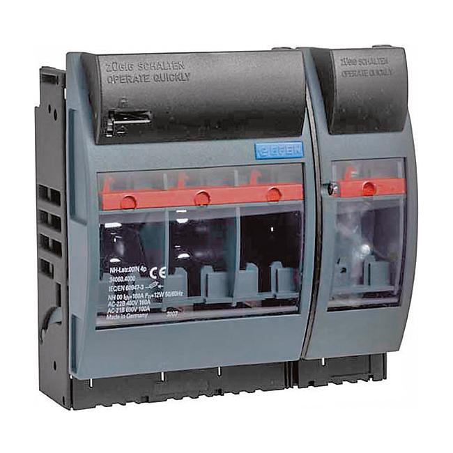 NH-Sicherungs-Lasttrenner 690 V AC, 4-polig für Aufbaumontage