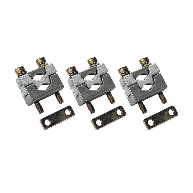 Druckstücke mit Kontaktprisma für 2 Leiter, für Universalanschluss