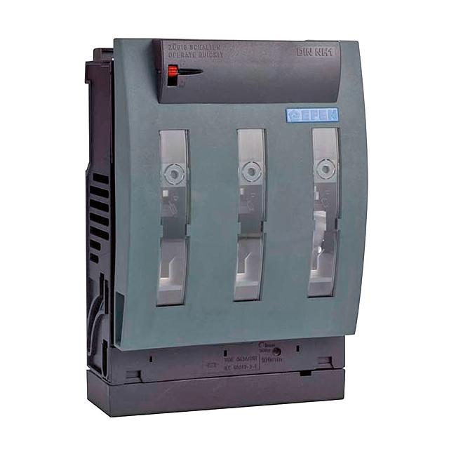 NH-Sicherungs-Lasttrenner 690 V AC, 3-polig, für Aufbaumontage 630 kVA und 1000 A Einspeisetrenner