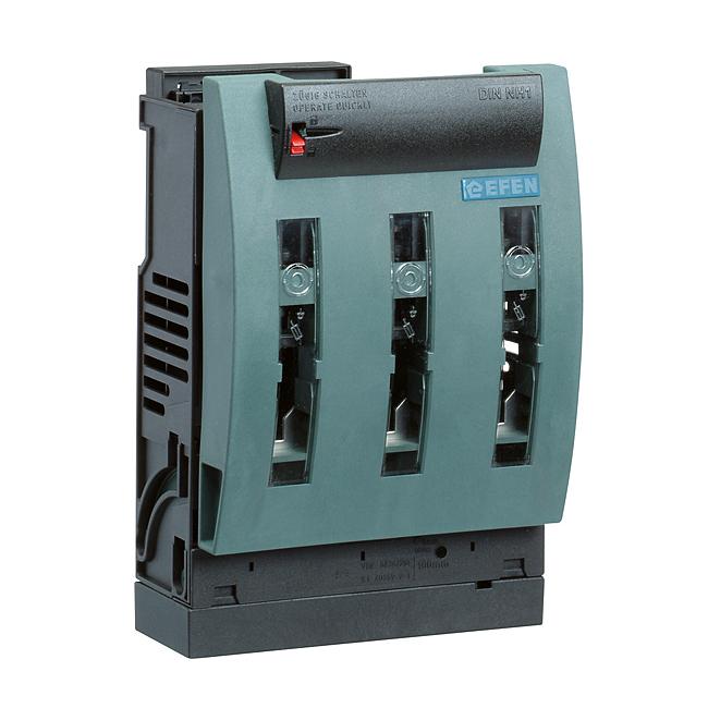 NH-Reiter-Sicherungs-Lasttrenner 690 V AC, 3-polig für Sammelschienensystem