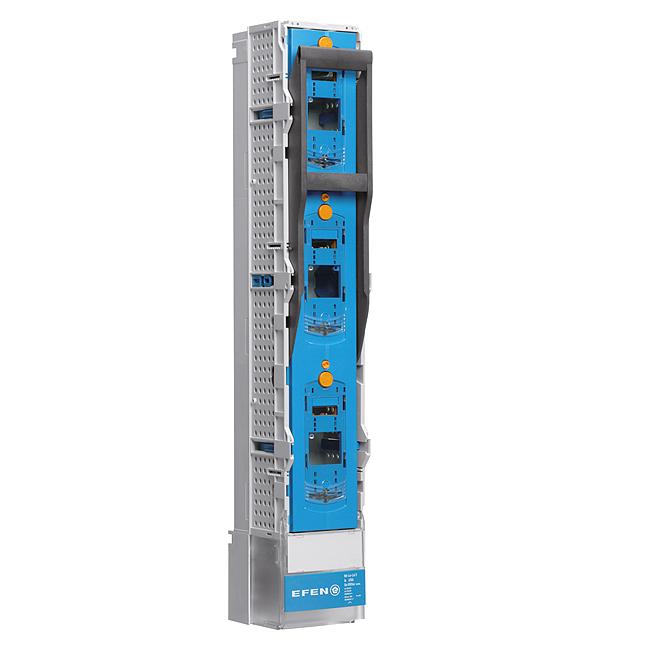 E³-NH-Sicherungs-Lastschaltleisten Größe 1-3, 3-polig schaltbar für 185 mm Sammelschienensysteme, HighPerformance