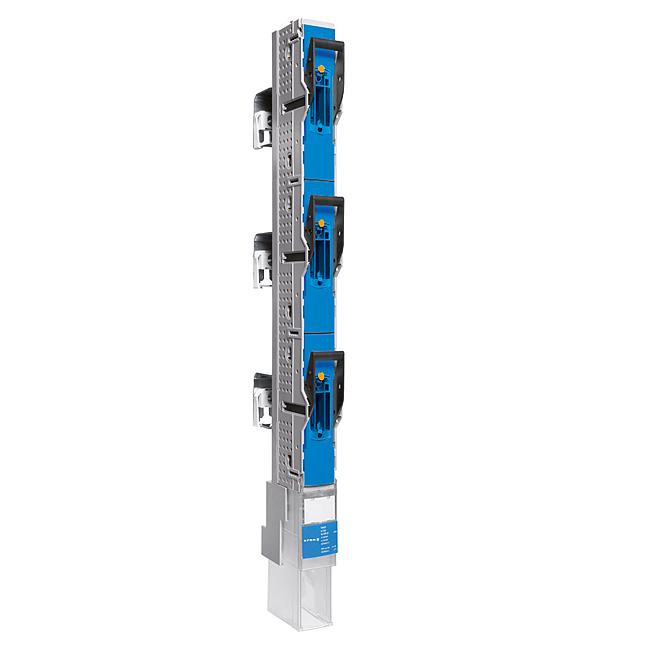 E³-NH-Sicherungs-Lastschaltleisten Größe 00/185, 1-polig schaltbar, 160 A, für 185 mm Sammelschienensysteme