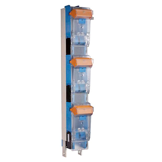 NH-Sicherungs-Lastschaltleisten Größe 4a, 1-polig schaltbar für 185 mm Sammelschienensysteme