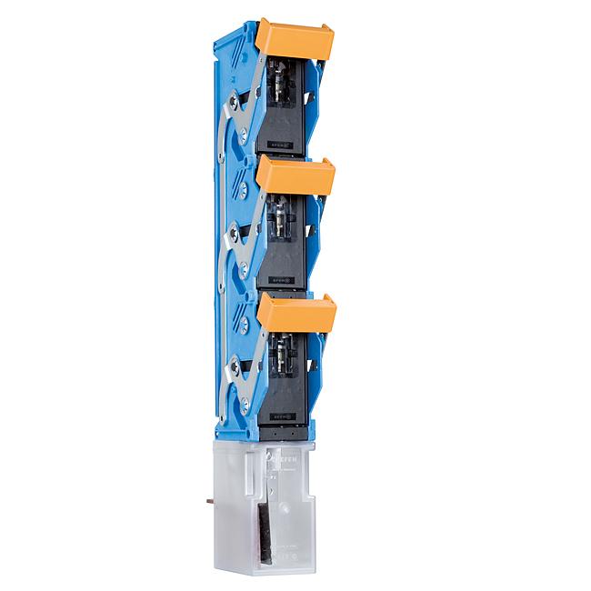 NH-Sicherungs-Lastschaltleisten Grose 3, 1-polig schaltbar 630 kVA, Baureihe NTSL