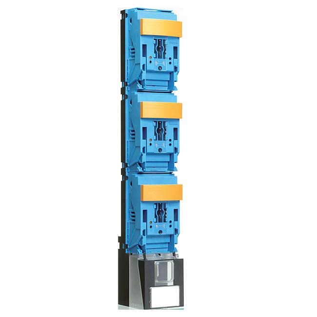 NH-Sicherungs-Lastschaltleisten Größe 2, 1-polig schaltbar, Reihe EKDEO