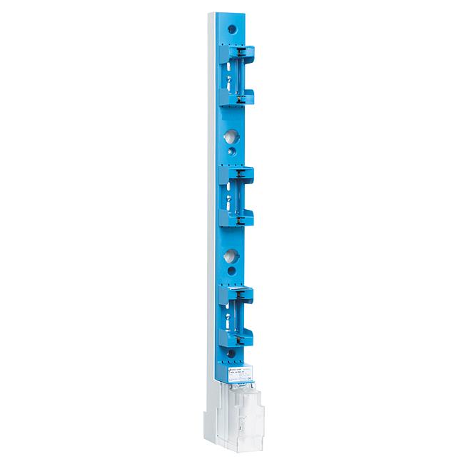 NH-Sicherungs-Leisten Größe 00-3, mit Kontakt- und Anschlussraumabdeckung