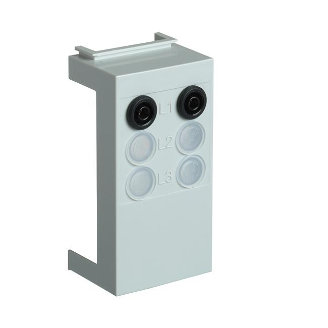 Messgerätehalter kurz 95 mm zu Größe 00, 100/185 mm