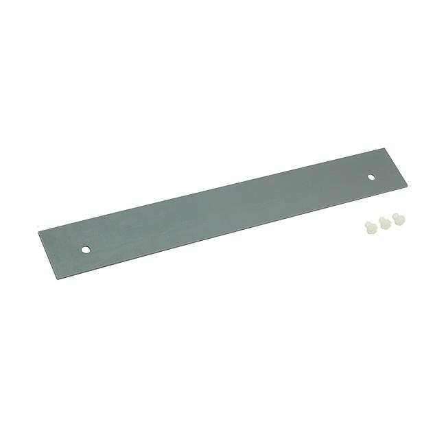 Leerplatzabdeckung für Adapter Größe 00 mit 185 mm Länge, Breite 50 mm mit Distanzbolzen
