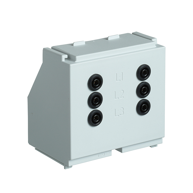 Gerätehalter E3 Gr.1-3 kurz 3phasig