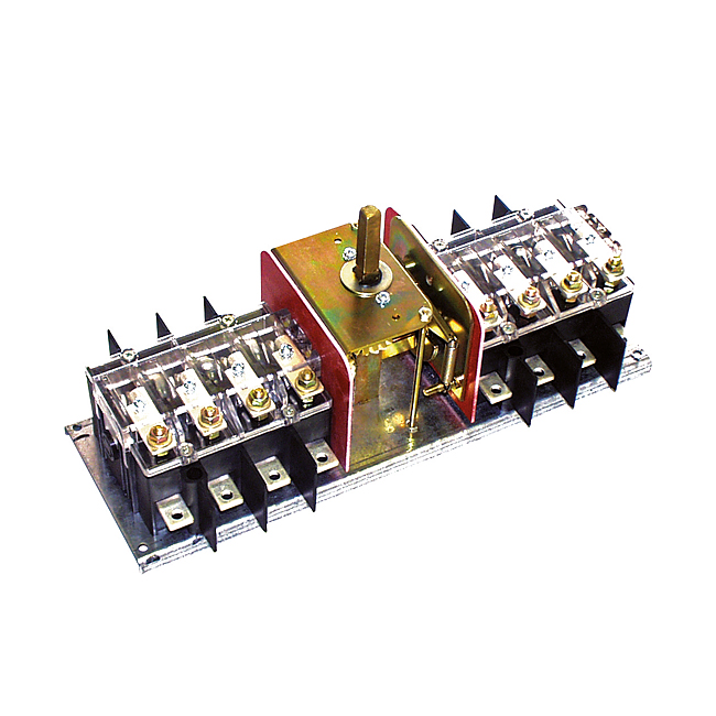 Bypass switches, 3 and 4-pole, 63-800 A, Type FMU BY 1 (FMUN BY1)