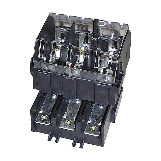 Lasttrennschalter mit Sicherungen (DIN-Type) 3-polig, 63 - 125 A, Typ SILAD