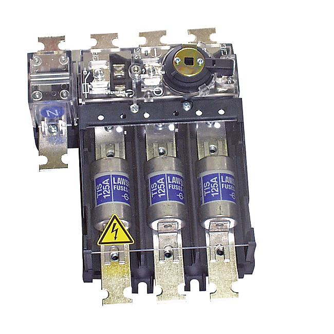 Lasttrennschalter mit Sicherungen, 3-polig, 25 - 125 A, für BS88 - Typ SILA-BS