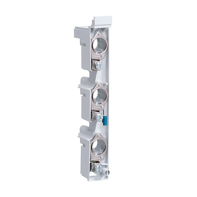 D0-Sicherungs-Sockel für Sammelschienenmontage - 60 mm System