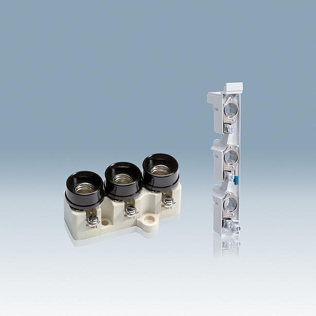 D0-Sicherungs-Sockel und -Unterteile