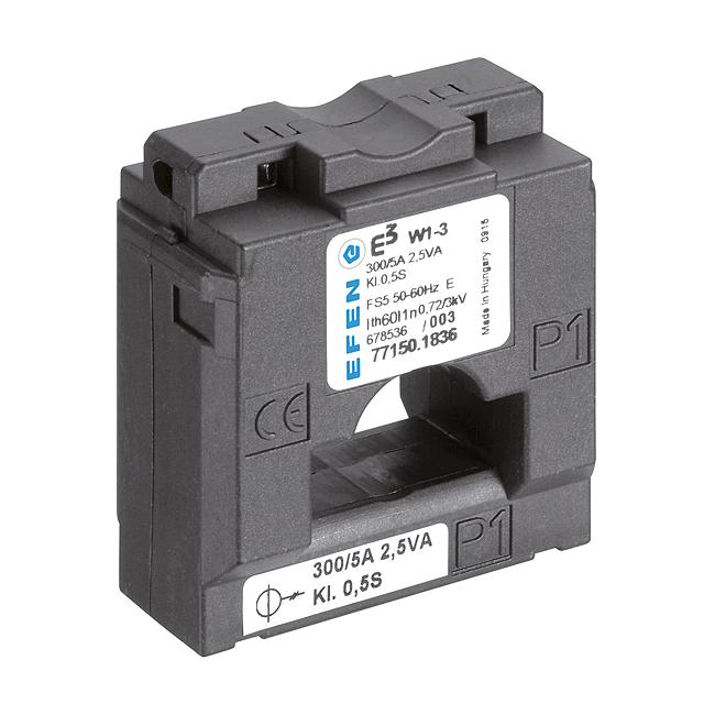 E³-Niederspannungs-Stromwandler für die E³-NH-Sicherungs-Lastschaltleisten Größe 1 - 3