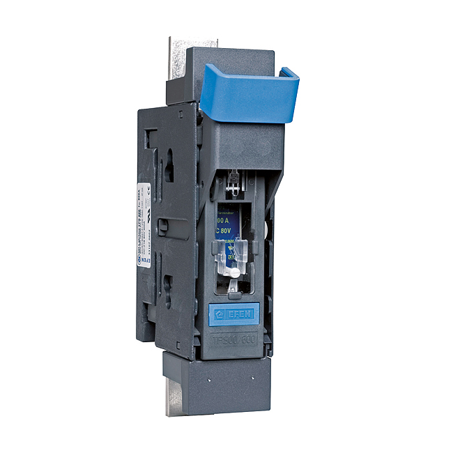 TPS fuse-switch for busbar mounting with fuse-monitoring