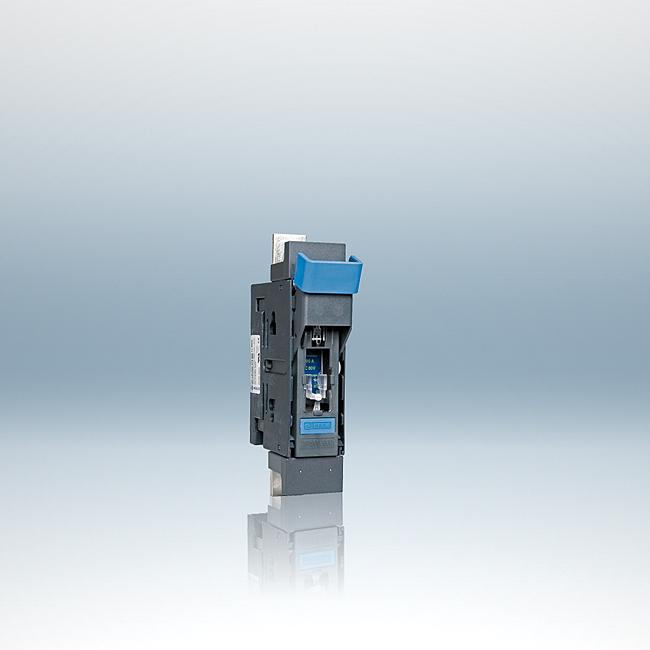 NH-Sicherungs-Lasttrenner 80 V und 550 V DC, 1-polig schaltbar für Aufbau- und Sammelschienenmontage