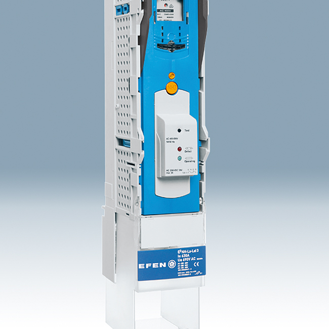 NH Fuse-Switches, vertical design, with fuse-monitoring