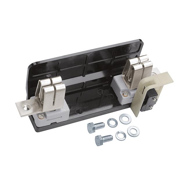 NH-Sicherungs-Unterteile Größe 3L, für Aufbaumontage mit Meldeschalter für Sicherungs überwachung, 1500 V AC