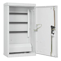 Fairground and market square distribution cabinets, size 2,  in accordance with DIN EN 61439-5, E DIN EN 61439-7
