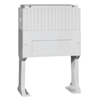 Accessories for distribution cabinets, Accessories for assembly