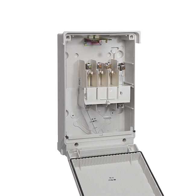 Kabel-Hausanschlusskasten KH00 / K4 nach DIN VDE 0660-505