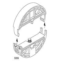 Freileitungs-Hausanschlusskästen Zubehör für Flachbandleitung YDSA/NYDY 16/25/35 mm²