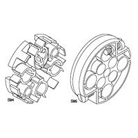 Freileitungs-Hausanschlusskästen Zubehör für Einzeladerleitung 10 - 70 mm²